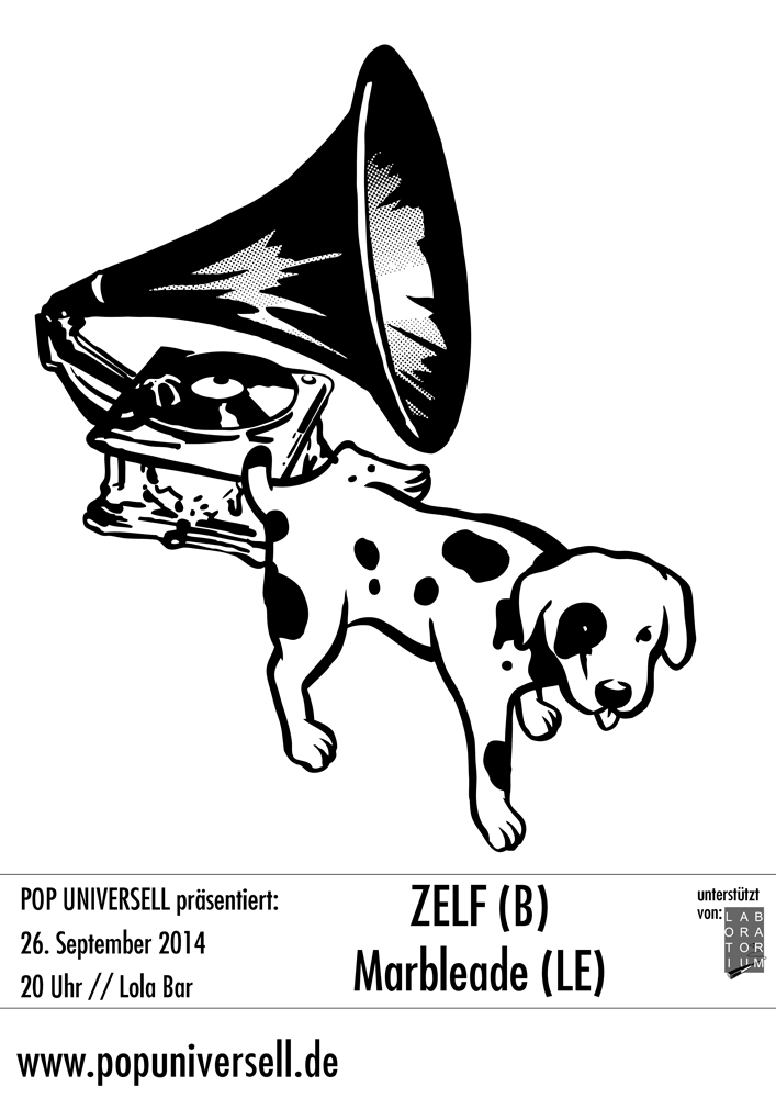 Pop Universell präsentiert: Zelf & Marbleade live